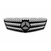 Хром/черна решетка тип AMG за Mercedes E класа W212 2009-2013