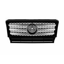 Хром/черна решетка с три лъча за Mercedes G класа W463 1990-2018