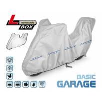 Покривало Kegel серия Basic размер L тип кутия сиво за мотоциклет