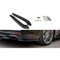 Сплитери за задна броня тип M-pack за BMW серия 5 G30/ G31 след 2017 година, визия лака