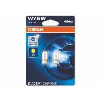 Комплект 2 броя халогенни крушки Osram WY5W Diadem Chrome 12V, 5W, W2.1x9.5d