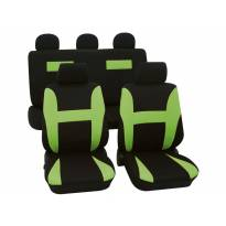Тапицерия за седалки Petex Eco-Class модел Neon от 11 части, зелена
