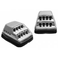 LED странични мигачи за Mercedes G класа W463 1990-2012 година - хром основа