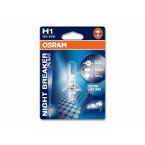 Халогенна крушка Osram H1 Night Breaker Plus 12V, 55W, P14.5s, 1 брой