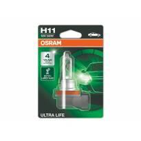 Халогенна крушка Osram H11 UltraLife 12V, 55W, PGJ19-2, 1 брой