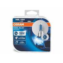 Комплект 2 броя халогенни крушки Osram H8 Cool Blue Intense 12V, 35W, PGJ19-1