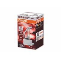 Ксенонова лампа Osram D3S Xenarc Night Breaker Laser +200% 42V, 35W, PK32d-5, 1 брой в кутия