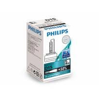 Ксенонова лампа Philips D1S X-Treme Vision 85V, 35W, PK32D-2 1бр.