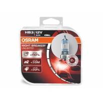 Комплект 2 броя халогенни крушки Osram HB3 Night Breaker Unlimited 12V, 60W, P20d
