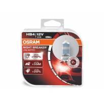 Комплект 2 броя халогенни крушки Osram HB4 Night Breaker Unlimited 12V, 51W, P22d