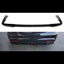 Заден, централен спойлер тип AMG без вертикални ребра за Mercedes S класа W222 2013-2017, визия лак