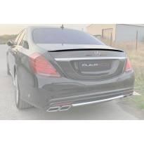 Спойлер за багажник тип AMG за Mercedes S класа W222 2015-2020