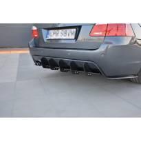Дифузьор Maxton Design за задна M Technik броня на BMW серия 5 E61 комби 2004-2010, черен мат
