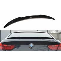 Спойлер Maxton Design тип M Technik за багажник на BMW серия 6 Gran Coupe F06 след 2013 година, черен лак