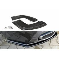 Странични добавки Maxton Design за задна M Technik броня за BMW X6 F16 след 2014 година, черен лак