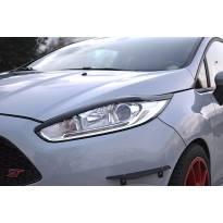 Вежди Maxton Design версия 1 за фарове на Ford Fiesta 2012-2017, цвят карбон