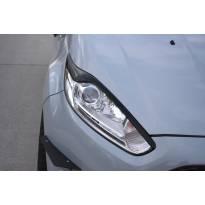 Вежди Maxton Design версия 2 за фарове на Ford Fiesta 2012-2017, цвят карбон