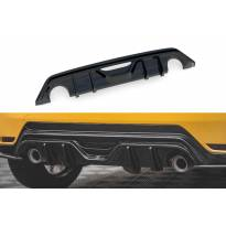 Дифузьор Maxton Design за задна GR броня на Toyota Yaris след 2020 година, черен лак