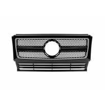 Хром/черна решетка тип G63, G65 за Mercedes G класа W463 1990-2012