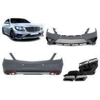 AMG пакет тип S63 за Mercedes S класа W222 2013-2017, без прагове