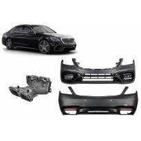 AMG пакет тип S63 за Mercedes S класа W222 2017-2020, без прагове