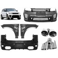 Тунинг пакет SVR дизайн за Range Rover Sport L494 след 2013 година