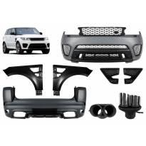 Тунинг пакет SVR дизайн за Range Rover Sport L494 след 2013 година без прагове