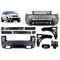 Тунинг пакет SVR дизайн за Range Rover Sport L494 след 2013 година с прагове