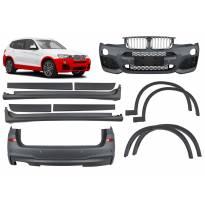 M technik пакет за BMW X3 F25 2014-2017 година