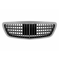Хром/черна решетка тип Maybach за Mercedes S класа W222 след 2013 година