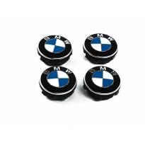 Оригинални BMW самоцентриращи капачки за джанти комплект от 4бр, за диаметър на болтовете на колелата 112мм или 120 мм