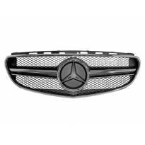 Хром/черна решетка тип E63 за Mercedes E класа W212 2014-2015