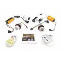 RGB лампи autopro за фабрични ангелски очи 30W + управление чрез Wi-Fi