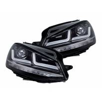 Комплект LED фарове Osram LEDriving Chrome Edition за VW Golf VII 2012-2016, ляв и десен