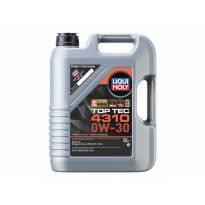 Полусинтетично моторно масло Liqui Moly серия TOP TEC 4310 0W30, 5L