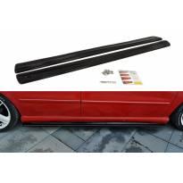 Добавки Maxton Design за прагове за Seat Leon Mk1 Cupra 2002-2005, цвят карбон