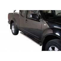Овални степенки Misutonida със стъпала за Nissan Pick Up Navara King Cab след 2005 година
