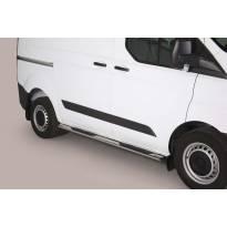 Овални степенки Misutonida със стъпала за Ford Transit Custom L1 след 2013 година