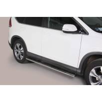 Овални степенки Misutonida със стъпала за Honda CR-V след 2012 година