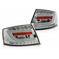 Комплект тунинг LED стопове за Audi A6 C6 04.2004-2008 седан, версия без фабрични led стопове (букса с 6 пина) , ляв и десен