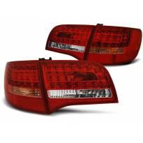 Комплект тунинг LED стопове за Audi A6 C6 2005-2008 комби, версия без фабрични led стопове , ляв и десен