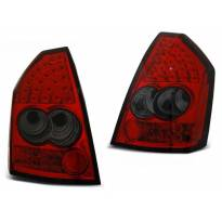 Комплект тунинг LED стопове за Chrysler 300C 2005-2008 червено/опушени , ляв и десен