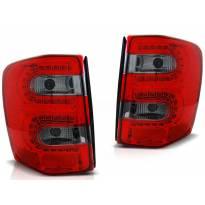 Комплект тунинг LED стопове за Jeep Grand Cherokee 1999-05.2005 червено/опушени , ляв и десен