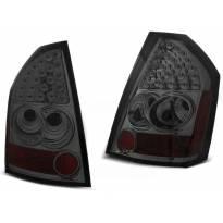 Комплект тунинг LED стопове за Chrysler 300C/300 2009-2010 опушени , ляв и десен