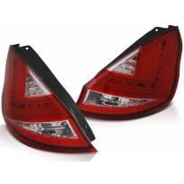 Комплект тунинг LED стопове за Ford FIESTA MK7 2008-2012 хечбек , ляв и десен
