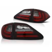 Комплект тунинг LED стопове за Lexus RX III 350 2009-2012 червено/бели , ляв и десен
