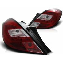 Комплект тунинг LED стопове за Opel CORSA D 04.2006- 3 врати, хечбек , ляв и десен