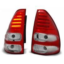 Комплект тунинг LED стопове за Toyota LAND CRUISER 120 2003-2009 , ляв и десен
