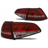 Комплект тунинг LED стопове за Volkswagen GOLF 7 2013- хечбек, версия без фабрични led стопове , ляв и десен