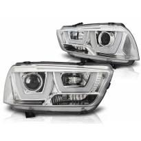 Комплект тунинг фарове с LED светлини за Dodge CHARGER LX II 2011-2015 , ляв и десен
